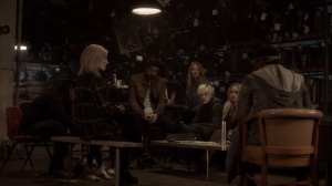 oMens- Erg tells the underground that their leadership is needed- Fox, X-Men, The Gifted