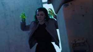 oMens- Lorna using her powers on the Inner Circle mutants- Fox, X-Men, The Gifted