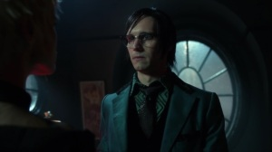 Pena Dura- Ed tells Barbara that Hugo Strange messed with his brain- Fox, Gotham