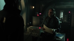 Pena Dura- Harvey tells Bruce that he goes over case files when he feels down- Fox, Gotham