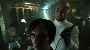 Pena Dura- Hugo Strange about to reboot Ed's chip- Fox, Gotham