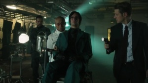 Pena Dura- Jim confronts Hugo Strange- Fox, Gotham
