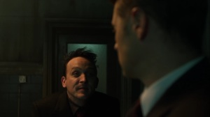 Pena Dura- Penguin tells Jim that Ed isn't responsible for what happened at Haven- Fox, Gotham