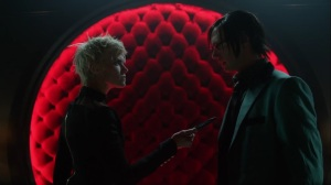 Pena Dura- Riddler tells Barbara that Hugo Strange might be controlling him- Fox, Gotham