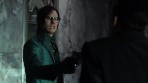 Pena Dura- Riddler tells Penguin what's been happening to him- Fox, Gotham