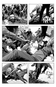 The Walking Dead #188- Carl goes to rescue Jesus