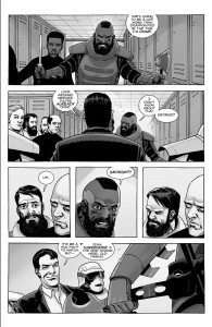 The Walking Dead #188- Lance confronts Mercer