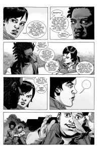 The Walking Dead #188- Maggie talks with Brianna about going to the Commonwealth