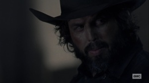 Chokepoint- Angus Sampson as Highwaymen leader- AMC, The Walking Dead