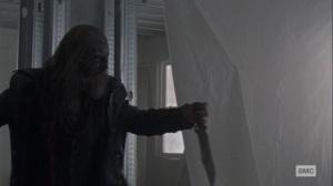 Chokepoint- Beta battles Daryl- AMC, The Walking Dead