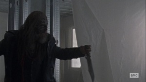 Chokepoint- Beta battles Daryl- AMC, The Walking Dead