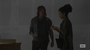 Chokepoint- Connie shares some supplies with Daryl- AMC, The Walking Dead