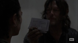 Chokepoint- Daryl tells Connie that their friends will die if they take Lydia- AMC, The Walking Dead