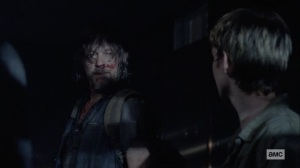 Chokepoint- Daryl tells Henry that they're going to Alexandria- AMC, The Walking Dead