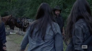 Chokepoint- Highwaymen help the Hilltop residents- AMC, The Walking Dead
