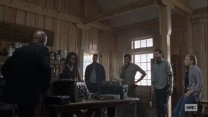 Guardians- Alexandria council goes discusses the fair- AMC, The Walking Dead