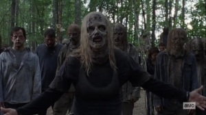 Guardians- Alpha acknowledges that the Whisperers follow her by choice- AMC, The Walking Dead