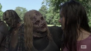 Guardians- Alpha cares for Lydia- AMC, The Walking Dead