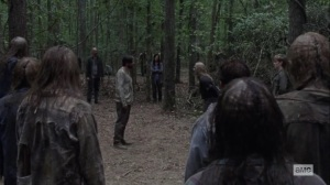 Guardians- Alpha receives a challenge- AMC, The Walking Dead