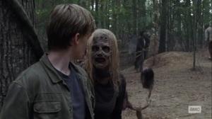 Guardians- Alpha speaks with Henry- AMC, The Walking Dead