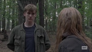 Guardians- Alpha tells Henry about how her people live- AMC, The Walking Dead