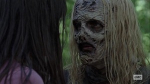 Guardians- Alpha upset about little information from Lydia- AMC, The Walking Dead