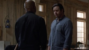 Guardians- Eugene wants Gabriel to work things out with Rosita- AMC, The Walking Dead