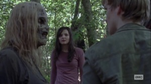 Guardians- Henry tells Alpha that he came for Lydia- AMC, The Walking Dead
