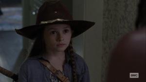 Guardians- Judith says that Negan isn't a monster- AMC, The Walking Dead