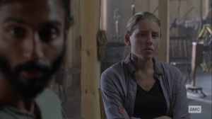 Guardians- Laura says that the Kingdom can handle itself- AMC, The Walking Dead