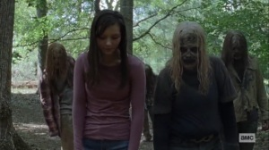 Guardians- Lydia tells Alpha what she learned about the Hilltop- AMC, The Walking Dead