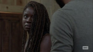 Guardians- Michonne is fine with Alexandria surviving, even if the Kingdom falls- AMC, The Walking Dead