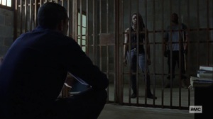 Guardians- Michonne wants to know why Negan returned- AMC, The Walking Dead