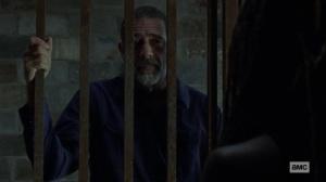 Guardians- Negan offers to help Michonne- AMC, The Walking Dead