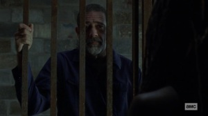 Guardians- Negan offers to help Michonne- AMC, The Walking Dead