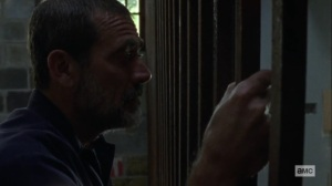 Guardians- Negan tells Michonne that she's losing control- AMC, The Walking Dead