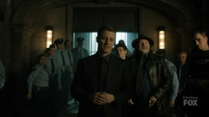 I Am Bane- Jim thanks the officers for their help- Gotham, Fox