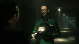 I Am Bane- Riddler reveals to Oswald that he has the submarine part- Fox, Gotham