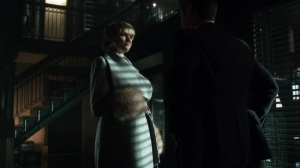 Nothing's Shocking- Barbara asks Jim if she'll be arrested once the government arrives- Fox, Gotham