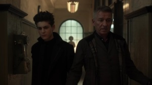Nothing's Shocking- Bruce and Alfred talk about the infected man- Fox, Gotham