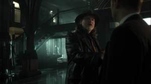 Nothing's Shocking- Harvey realizes that Jim is benching him- Fox, Gotham