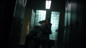Nothing's Shocking- Jane Doe as Harvey begins strangling Dix- Fox, Gotham