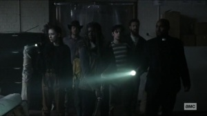 Scars- Alexandria group searches for Jocelyn's group- AMC, The Walking Dead