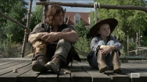 Scars- Daryl and Judith talk- AMC, The Walking Dead