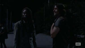 Scars- Daryl wants Michonne to tell Judith everything- AMC, The Walking Dead