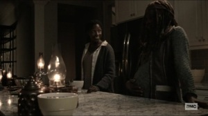 Scars- Jocelyn and Michonne talk about old times- AMC, The Walking Dead