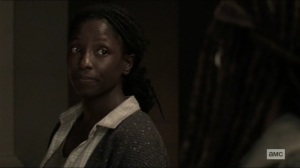 Scars- Jocelyn tells Michonne that none of the other adults from her group made it- AMC, The Walking Dead