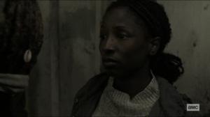 Scars- Jocelyn tells Michonne that the kids can't be soft or weak- AMC, The Walking Dead