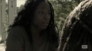 Scars- Jocelyn tries to leave Alexandria- AMC, The Walking Dead
