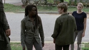 Scars- Michonne needs to speak with Lydia alone- AMC, The Walking Dead